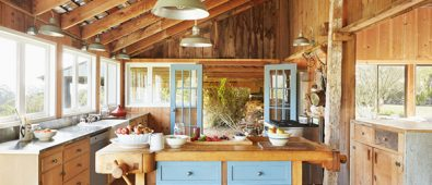 çiftlik evi mutfak dekoru